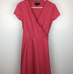 Boden polka dot wrap dress